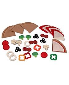 Kids Toys, Felt Pizza Set