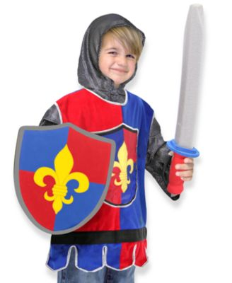 Melissa and Doug Knight Deluxe Role Play Costume Set