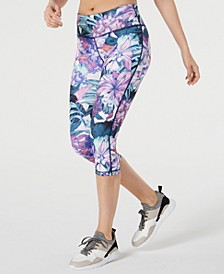 Floral Printed Cropped Leggings
