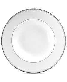 Monique Lhuillier Waterford Dinnerware, Dentelle Rim Soup Bowl