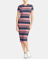4a845cb994e RACHEL Rachel Roy Striped T-Shirt Bodycon Dress
