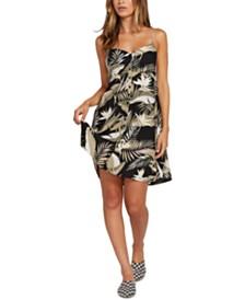 Volcom Juniors' Hey Bud Printed Fit & Flare Dress