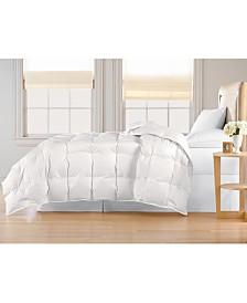 Blue Ridge Oversized White Goose Down Comforter, Full/Queen