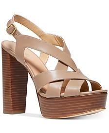 MICHAEL Michael Kors Audrina Platform Sandals