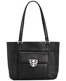 Hardware Nappa Leather Tote, Created for Macy's