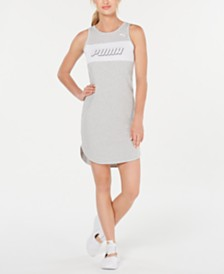 Puma Modern Sports Cotton Tank Dress