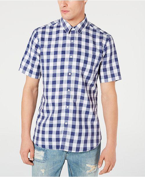 American Rag Men's Check Shirt, Created for Macy's