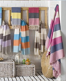 Enchante Home Flora Pestemal Fouta Turkish Cotton Beach Towel