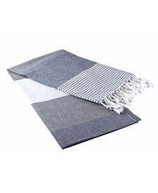 Enchante Home Deniz Pestemal Fouta Turkish Cotton Beach Towel
