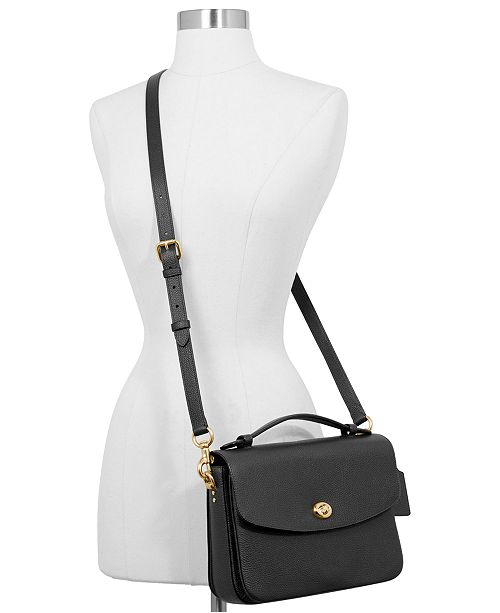 7c3ff1de COACH Cassie Crossbody In Polished Pebble Leather & Reviews ...