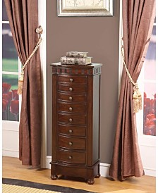 Nathan Direct Muscat 8-Drawer Jewelry Armoire