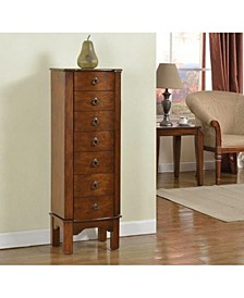 7 Drawer Jewelry Armoire, Weather