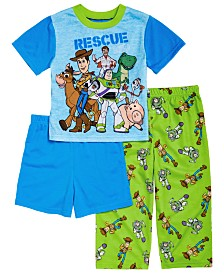 AME Toddler Boys 3-Pc. Toy Story Pajama Set