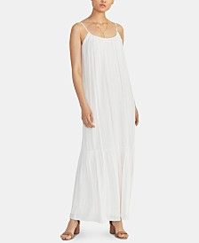 RACHEL Rachel Roy Leo Metallic-Stripe Maxi Dress