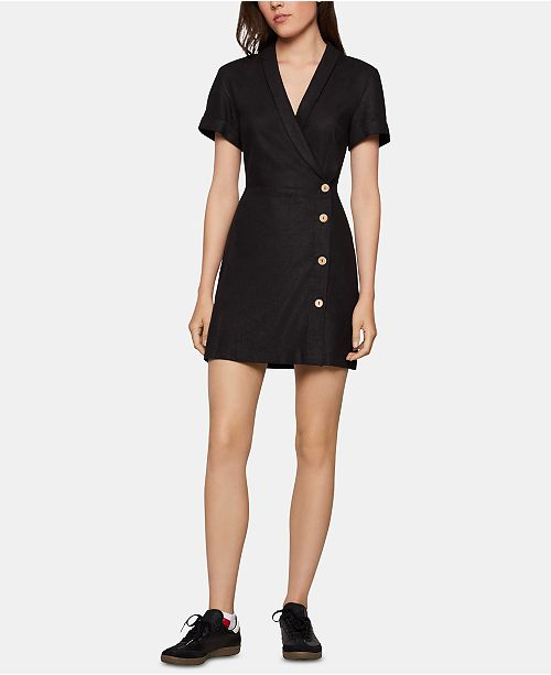 BCBGeneration V-Neck Wrap Dress
