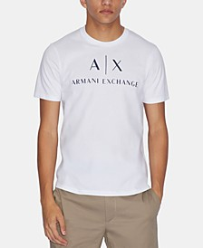 Men's Graphic-Print Logo T-Shirt