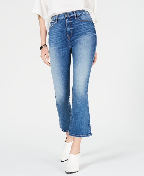 Hudson Jeans Holly Cropped Flare-Leg Jeans