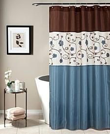 """Royal Garden 72"""" x 72"""" Shower Curtain"""