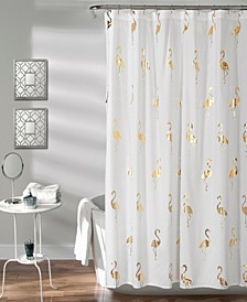"Flamingo 72"" x 72"" Shower Curtain"