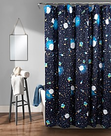 "Universe 72"" x 72"" Shower Curtain"