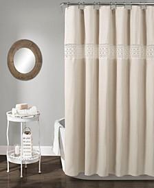 """Dana Lace 72"""" x 72"""" Shower Curtain"""