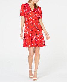 Jill Jill Stuart Floral Mini Dress