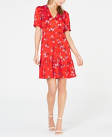 Jill Jill Stuart Floral Mini Dress