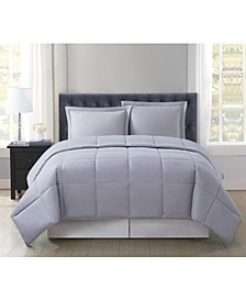 Everyday Solid King 3-Pc. Comforter Set