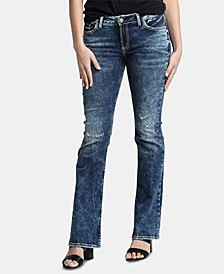 Elyse Mid-Rise Bootcut Jeans