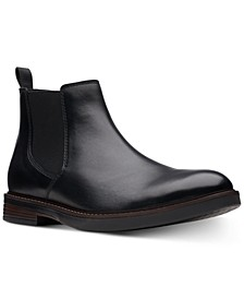 Men's Paulson Up Black Leather Casual Boots