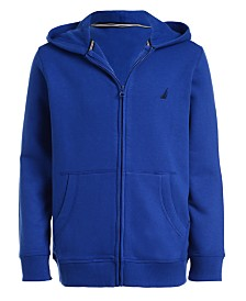 Nautica Little Boys Wilson Full-Zip Fleece Hoodie
