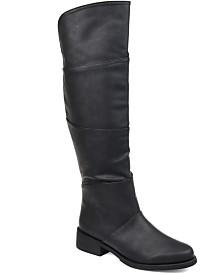 Journee Collection Women's Comfort Extra Wide Calf Vanesa Boot