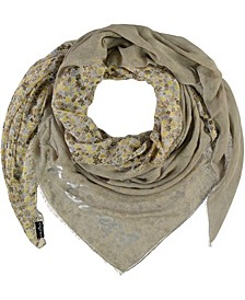 Scripted Square Scarf