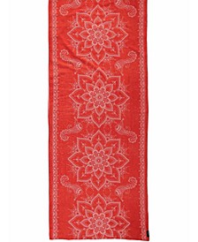 Ornamental Oblong Scarf