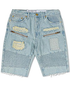Men's Rally Distressed Denim Shorts