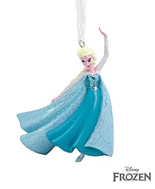 Disney Frozen Elsa Ice Skating Christmas Ornament