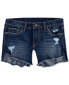 Toddler Girls Step Up Shorty Denim Shorts