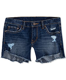 Levi's® Toddler Girls Step Up Shorty Denim Shorts