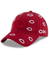 check out 790f6 3ae8a New Era Women s Cincinnati Reds Logo Scatter Adjustable 9TWENTY Cap