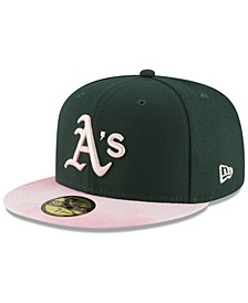 Oakland Athletics Mothers Day 59FIFTY Fitted Cap
