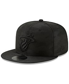 New Era Miami Heat Blackout Camo 9FIFTY Cap