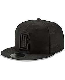 Los Angeles Clippers Blackout Camo 9FIFTY Cap