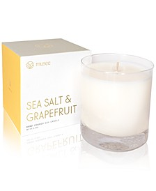 Sea Salt & Grapefruit Hand-Poured Soy Candle, 8.8-oz.