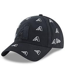 New Era Women's Arizona Diamondbacks Logo Scatter Adjustable 9TWENTY Cap