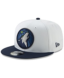 New Era Minnesota Timberwolves White XLT 9FIFTY Cap