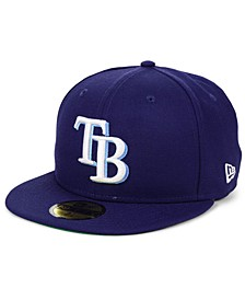 Tampa Bay Rays Opening Day 59FIFTY-FITTED-FITTED Cap
