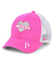 '47 Brand Girls' Pittsburgh Pirates Sweetheart Meshback MVP Cap