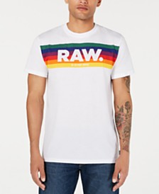 G-Star RAW Men's Pride Logo T-Shirt