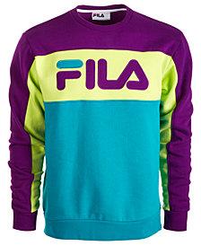 Fila Men's Colorblocked Fleece Sweatshirt