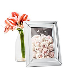 "Martha Stewart Collection Small 5"" x 7"" Beveled Mirror Frame, Created For Macy's"